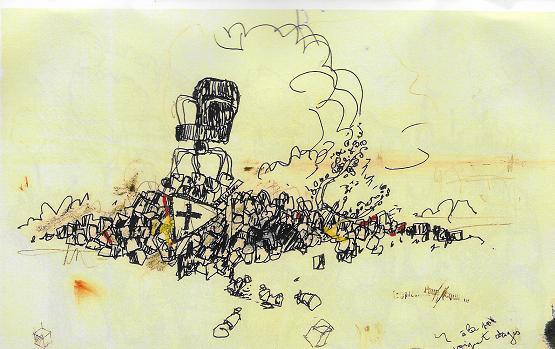 Le lendemain des affrontements au port Communeau