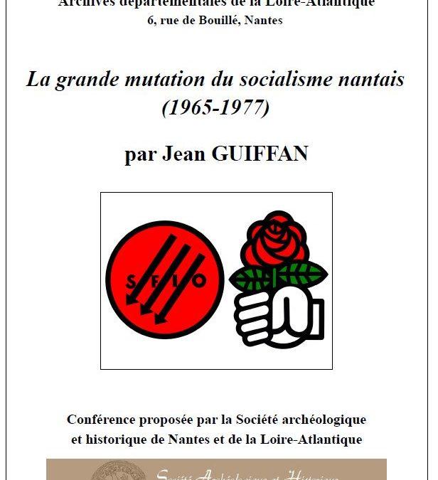 La grande mutation du socialisme nantais (1965-1977)