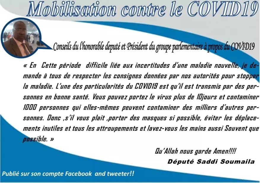 AU NIGER CONTRE LA PANDEMIE COVID-19