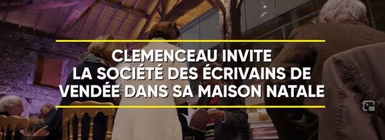 Les mots de Georges Clemenceau inspirent les écrivains de Vendée